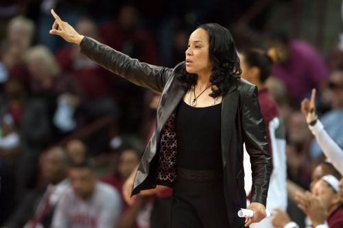 """Team USA Coach Dawn Staley's """"Heart Is Full"""" Watching Athletes Fight For Social Justice"""