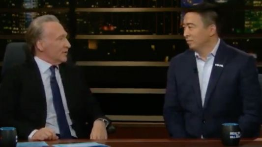 Bill Maher Asks Andrew Yang: What's Your Plan If You Win and Trump Refuses to Concede?