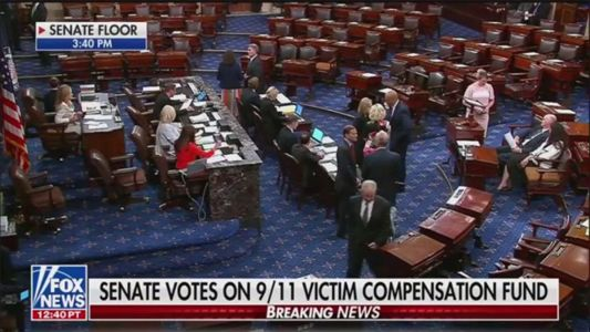 BREAKING: Senate Votes to Pass Bill Reauthorizing 9/11 Victims Compensation Fund