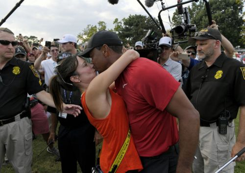 Tiger Woods Wins First PGA Tournament in 5 Years - Is GF Erica Herman His Secret Weapon?