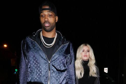 Khloé Kardashian Hold Hands with Tristan Thompson After Supporting Him at Cavaliers Game