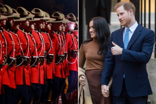Canada's Mounties declining post-royal protection to Meghan and Harry