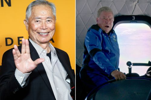 George Takei calls William Shatner an 'unfit' guinea pig after spaceflight
