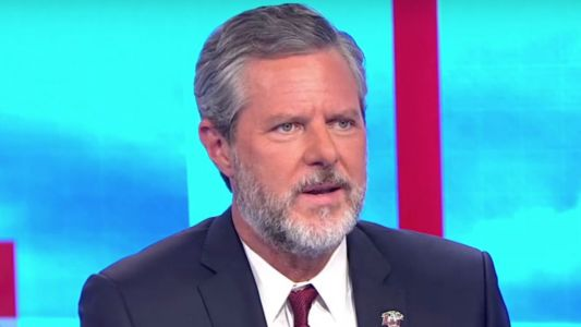 Former Liberty University President Jerry Falwell Jr. Shows Up at Event, Says He's Holding 'The Real Liberty Graduation'