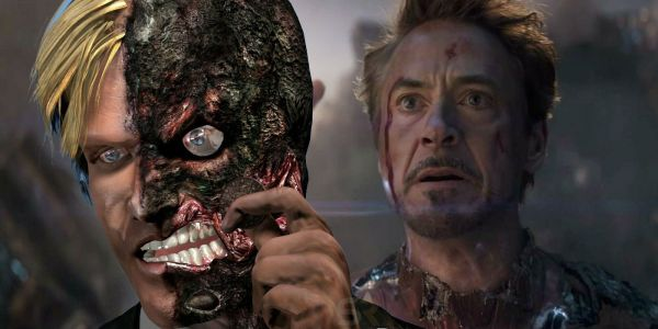 Endgame: Alternate Tony Stark Death Design Was Inspired By Two-Face