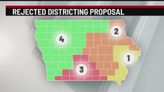 Second draft of Iowa redistricting maps to be released Thursday