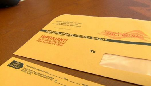 Registered GR voters to get vote by mail application