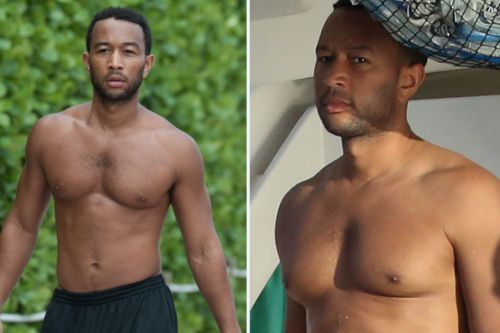 'Sexiest Man Alive' John Legend's most swoon-worthy snaps