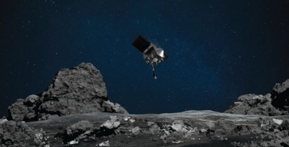 NASA collects sample of ancient asteroid for voyage back to Earth