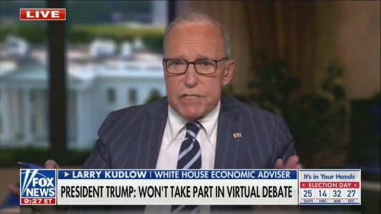 Larry Kudlow, Trump Economic Adviser, Joins Fox Business to Host Daily Show