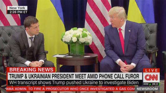 Ukrainian President Reportedly Felt Pressure From Trump to Investigate Bidens Before Even Taking Office