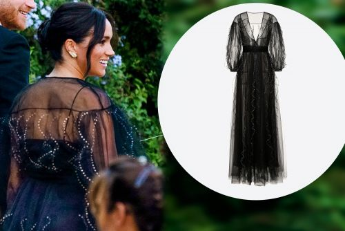 Meghan Markle sparkles in $13K Valentino gown at Misha Nonoo's wedding