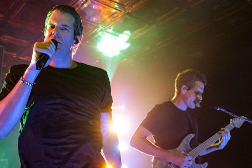 Cameron and Tyler Winklevoss' band play their first live gig