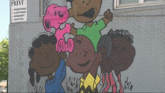 Iconic Peanuts Characters Receive Makeover to Uplift Diverse Des Moines Neighborhood