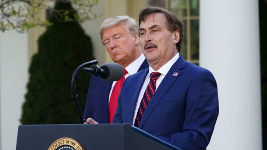 Cushion Pushin': MyPillow Guy Mike Lindell Says Trump Would Back Him for Governorship