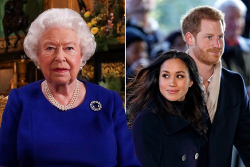 Queen may have dropped hint about Harry and Meghan losing titles