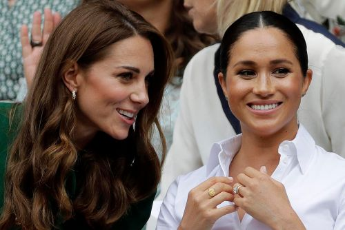Meghan Markle's royal wedding feud with Kate Middleton was about tights