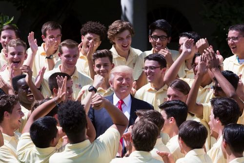 Inside the summer camp that grooms future presidents and governors