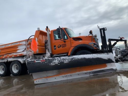 Iowa DOT Says Drivers Struck 7 Plows During Winter Storm