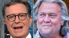 Stephen Colbert Bestows Steve Bannon With A Horrifying Description You'll Never Forget