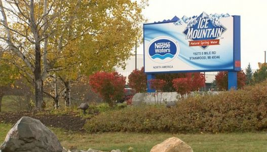 Activists put pressure on Nestle's water operations