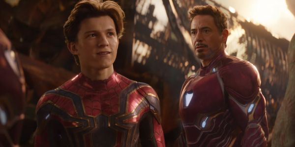 RDJ Shares Alternate Version of Tony & Peter's Photo From New Endgame Trailer