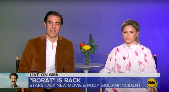Sacha Baron Cohen Defends Borat Scene With Rudy Giuliani: 'Heaven Knows What He's Done With Other Female Journalists'