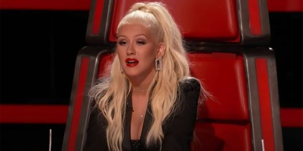 Christina Aguilera Embraces 40 With Middle Fingers And A Catsuit