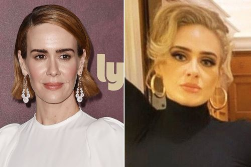 Sarah Paulson on being labeled an Adele lookalike: 'I'll take it'