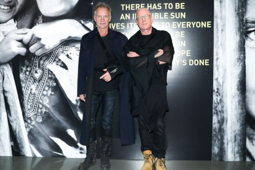 Sting performs in Chelsea for photog pal Bobby Sager's book party