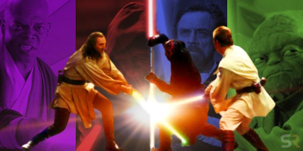 Star Wars: Every Canon Lightsaber Color and Meaning | Screen Rant