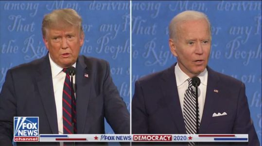 Trump-Biden Debate Ratings Down Big From 2016, But Cable News Outlets Post Record Numbers
