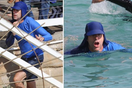 Sacha Baron Cohen covers up for a swim and more star snaps
