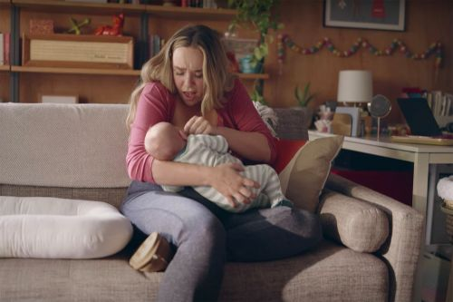First commercial showing lactating breasts to air during Golden Globes