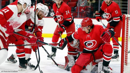 Red Wings upend Hurricanes with victory