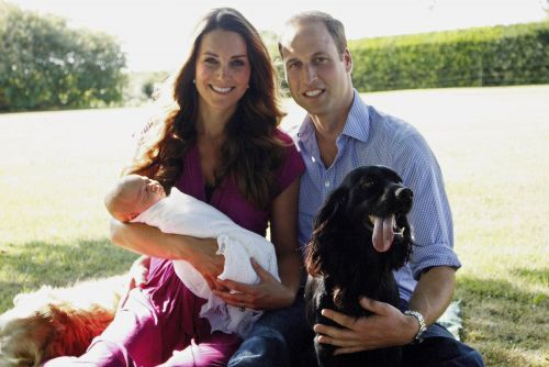 Prince William and Kate Middleton mourn the death of their dog Lupo