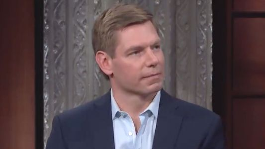 Eric Swalwell Confronted Marjorie Taylor Greene Staffer Over Mask-Wearing on House Floor: 'You Don't Tell Me What to F*cking Do!'