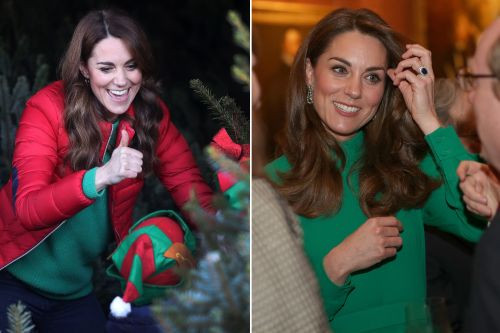 Kate Middleton's festive fashion will get you in the holiday spirit