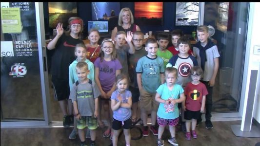 Join Channel 13 at the Science Center of Iowa