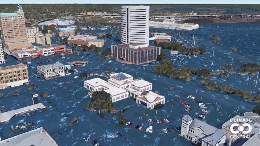 What U.S. cities will look like with sea level rise, according to scientific projections