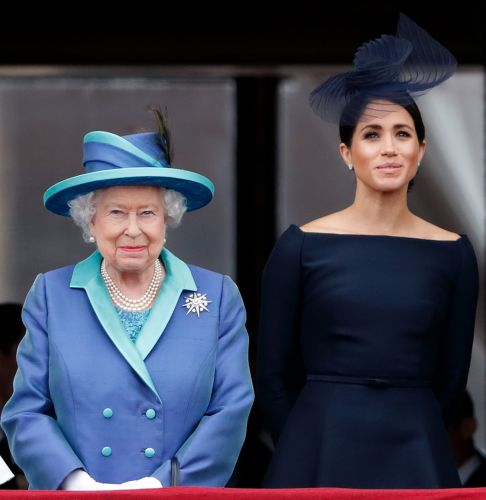 Queen Elizabeth II Sends Message to Meghan's Home State of California During Tragic Wildfires