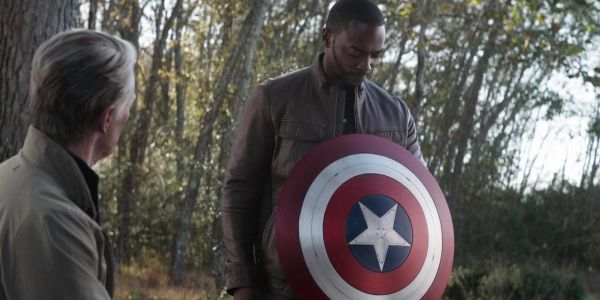 Sounds Like The Falcon And The Winter Soldier's Anthony Mackie Uses Captain America's Shield A Lot