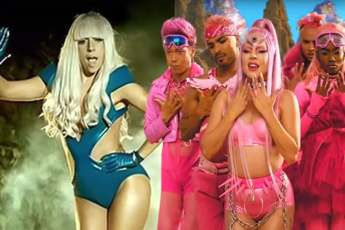 Lady Gaga's music video style evolution