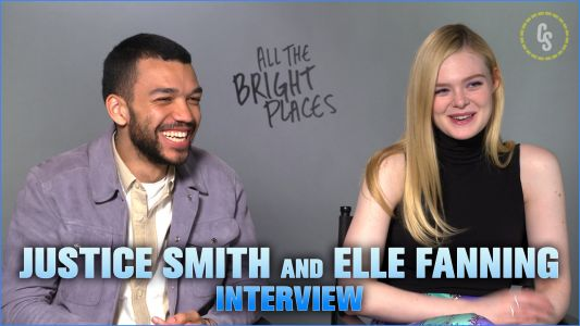 CS Video: Justice Smith & Elle Fanning for Netflix's All the Bright Places!