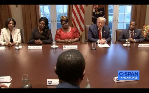 Ex-NFL Player Jack Brewer Calls Trump the 'First Black President' During Black History Month Roundtable