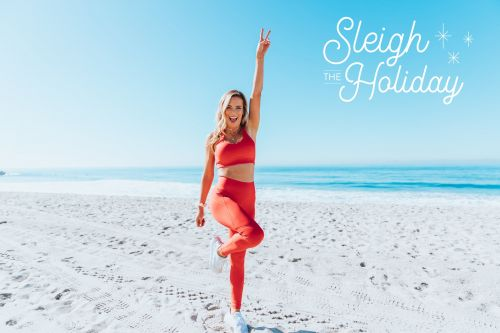 """Sleigh the Holiday"" Is Just Like It Sounds: Structured Workouts For the Busiest Time of Year"