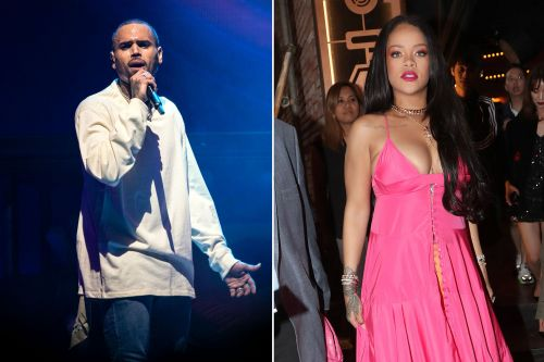 Chris Brown angers fans with thirsty comment on Rihanna's Instagram