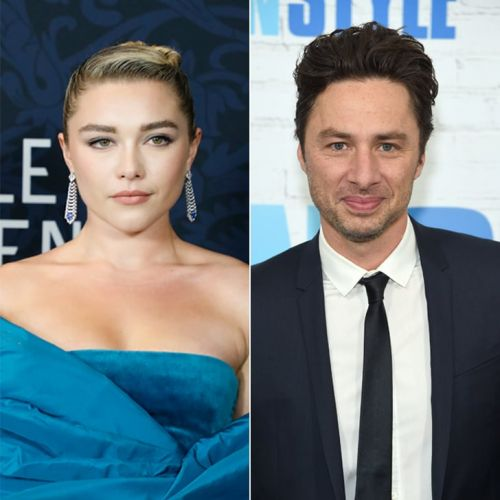 A Word of Advice: Don't Let Florence Pugh Catch You Criticizing Her Zach Braff Romance
