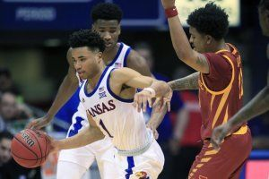 Jayhawks Wear Down Overmatched Cyclones