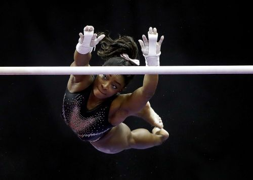 "Simone Biles Says She ""Doesn't Realize"" She's Breaking Records Until Someone Tells Her"